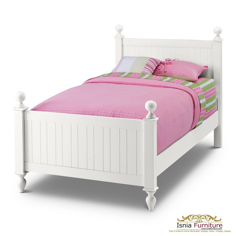 Jual-Tempat-Tidur-Anak-minimalis-Murah Dipan Tidur Anak Minimalis Putih