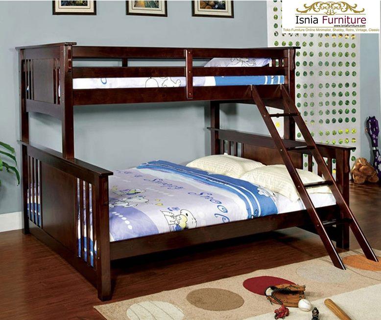 Tempat-Tidur-Tingkat-Anak-Anak-Jati Tempat Tidur Tingkat Anak - Anak Jati