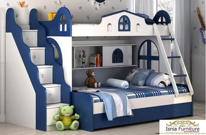 Tempat-Tidur-Tingkat-Anak-Home-Dream 49 Model Tempat Tidur Tingkat Kayu Desain Minimalis | JUAL HARGA MURAH