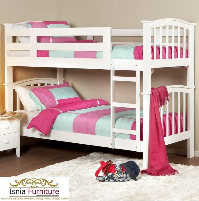 Model-Tempat-Tidur-Tingkat-Paling-Laris-Putih Model Tempat Tidur Tingkat Paling Laris