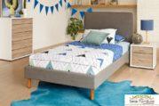 Tempat Tidur Anak Minimalis Retro Modern