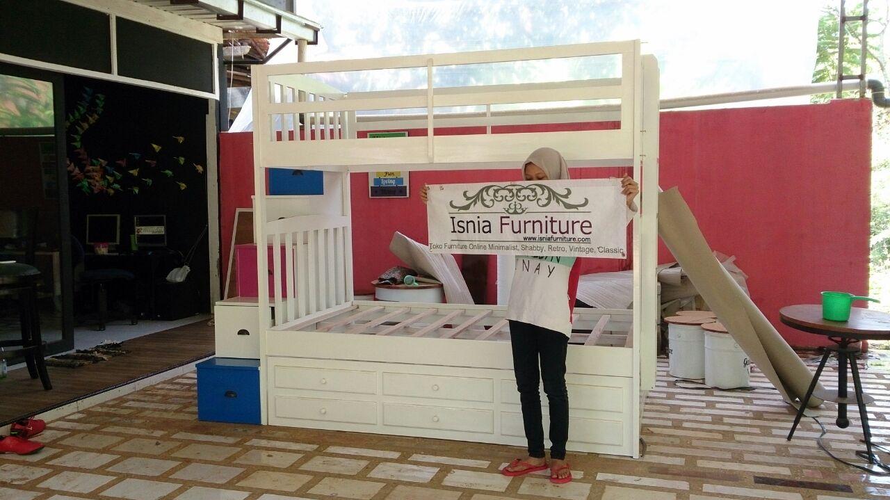 Tempat-Tidur-Anak-Tingkat-Sorong Tempat Tidur Anak Tingkat Sorong