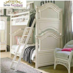 Tempat Tidur Tingkat Modern Model Luxury (Mewah)