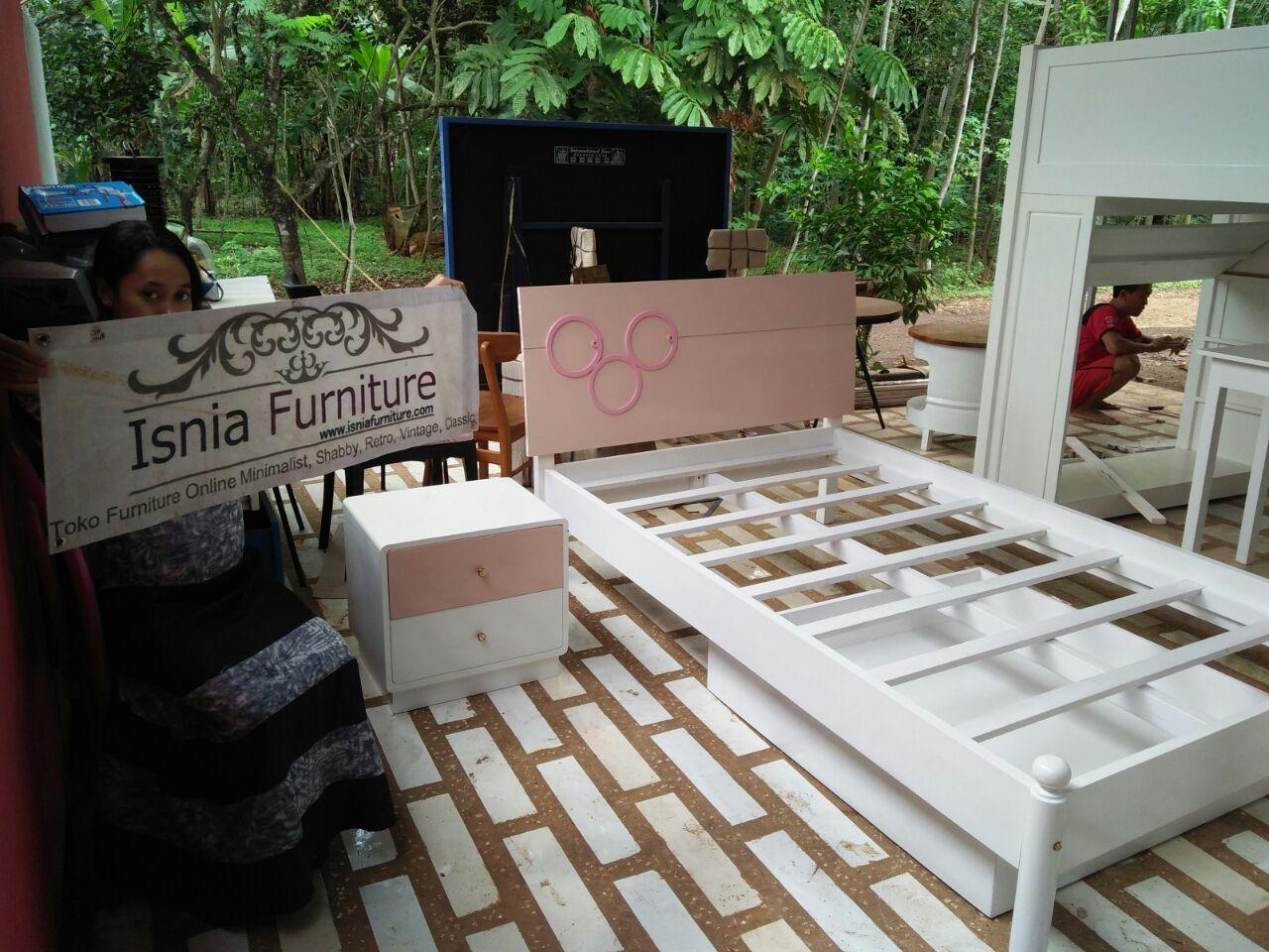 Jual Set Tempat Tidur Anak Perempuan Surabaya