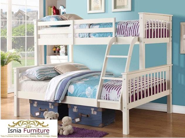 Model-Tempat-Tidur-Tingkat-Kayu-Jati-Putih Model Tempat Tidur Tingkat Kayu Jati Terbaru