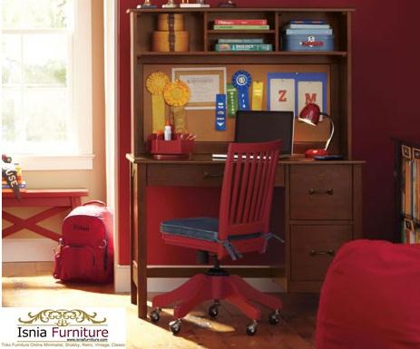 Set-Kursi-Meja-Belajar-Anak-Modern-Jati Set Kursi Meja Belajar Anak Modern Kayu Jati