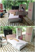 Set Ranjang Tidur Anak Round Pink Jakarta – Pesanan Bu Sarah