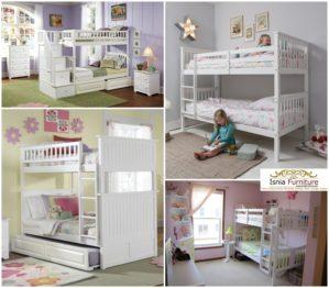 Tempat Tidur Susun Multifungsi Untuk Anak Kembar
