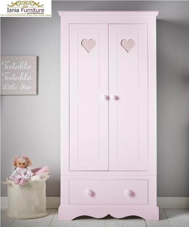 Lemari-Pakaian-Anak-Minimalis-Cantik-Dan-Anggun-Pink Lemari Pakaian Anak Minimalis Cantik Dan Anggun