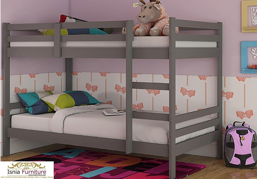 Tempat-Tidur-Tingkat-Anak-Modern-Rekomend-Abu-Abu Tempat Tidur Tingkat Anak Modern Rekomend