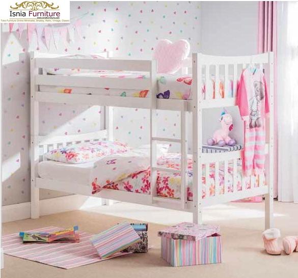 Tempat-Tidur-Tingkat-Anak-Modern-Rekomend-Putih Tempat Tidur Tingkat Anak Modern Rekomend