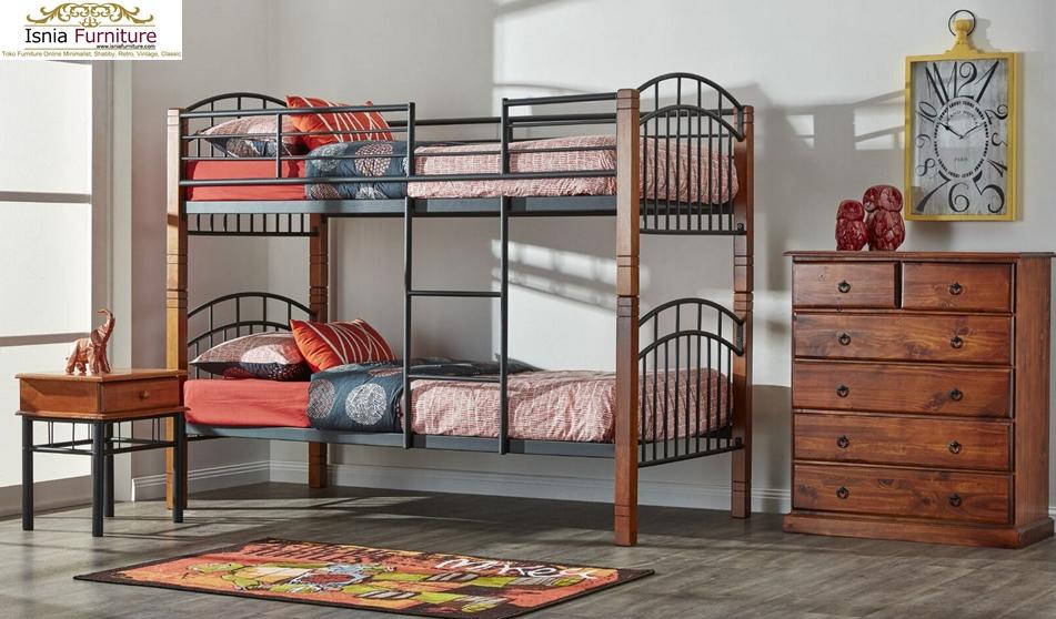 Tempat-Tidur-Tingkat-Anak-Modern-Rekomend-Vintage Tempat Tidur Tingkat Anak Modern Rekomend