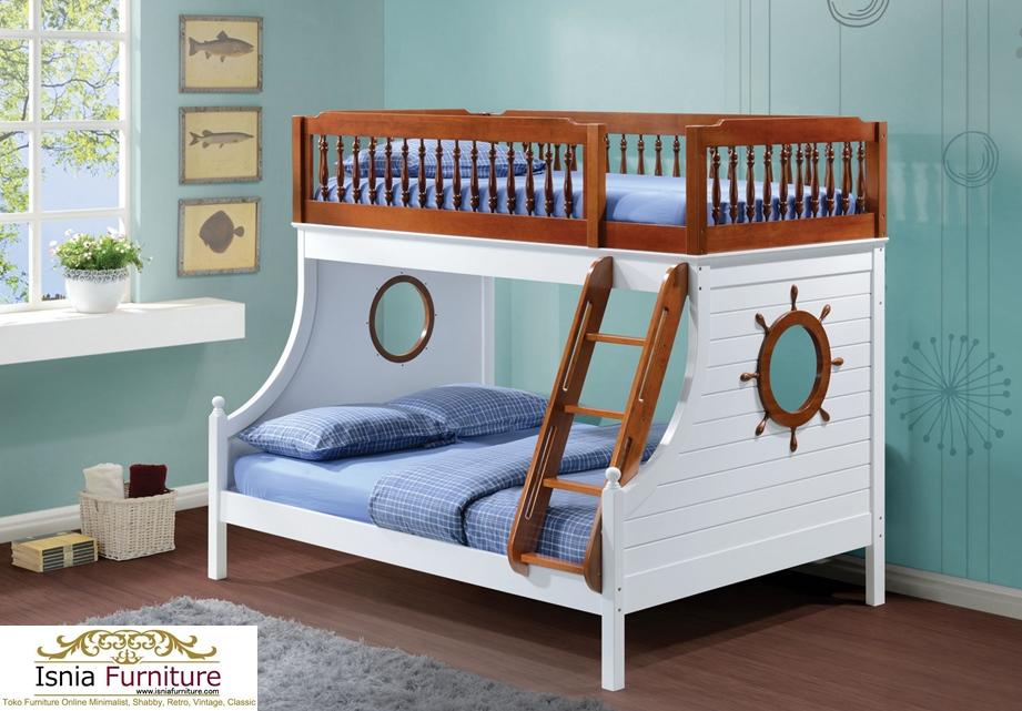 Tempat-Tidur-Tingkat-Anak-Modern-Rekomend 49 Tempat Tidur Tingkat Kayu Minimalis | JUAL HARGA MURAH