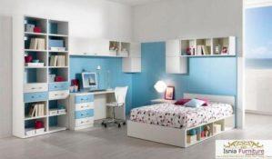 Set Kamar Anak Blue-White