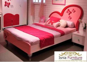 Tempat Tidur Anak Perempuan Jakarta Pink