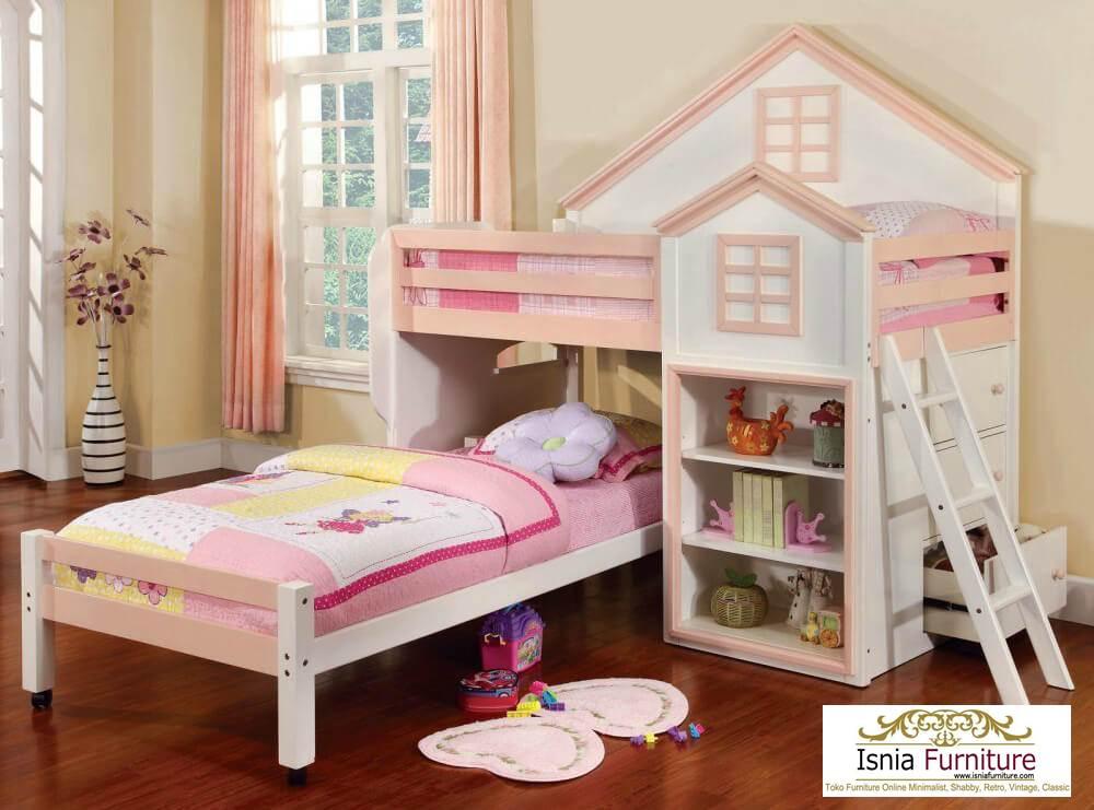 harga-murah-tempat-tidur-tingkat-perempuan Tempat Tidur Tingkat Anak Perempuan