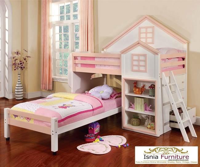 jual-tempat-Tidur-tingkat-perempuan Tempat Tidur Tingkat Anak Perempuan