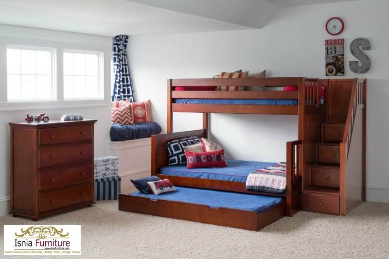 jual-tempat-tidur-laki-laki-tingkat-sorong 79 Model Ranjang Tempat Tidur Tingkat Kayu Minimalis Harga Murah