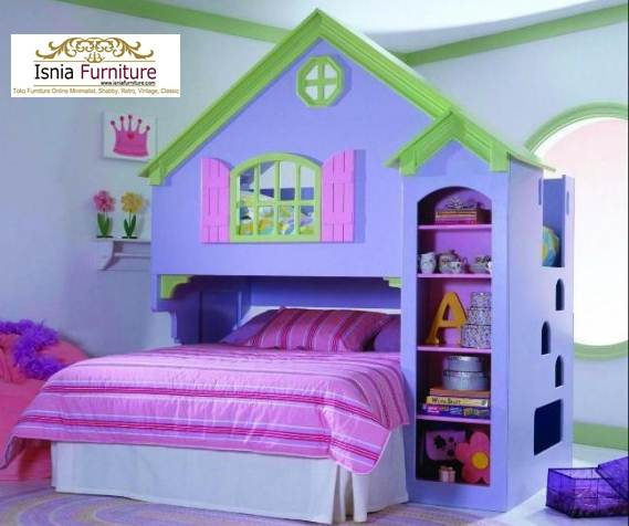 jual-tempat-tidur-tingkat-unik-rumah Tempat Tidur Tingkat Anak Perempuan