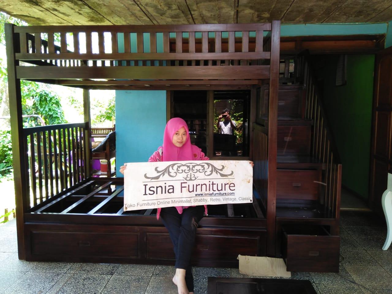 Tempat-Tidur-Tingkat-Jakarta 79 Model Ranjang Tempat Tidur Tingkat Kayu Minimalis Harga Murah