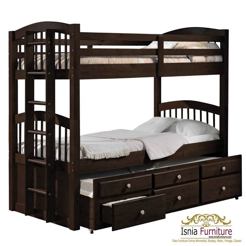 Harga-Tempat-Tidur-Tingkat-Jati-Minimalis 49 Tempat Tidur Tingkat Kayu Minimalis | JUAL HARGA MURAH
