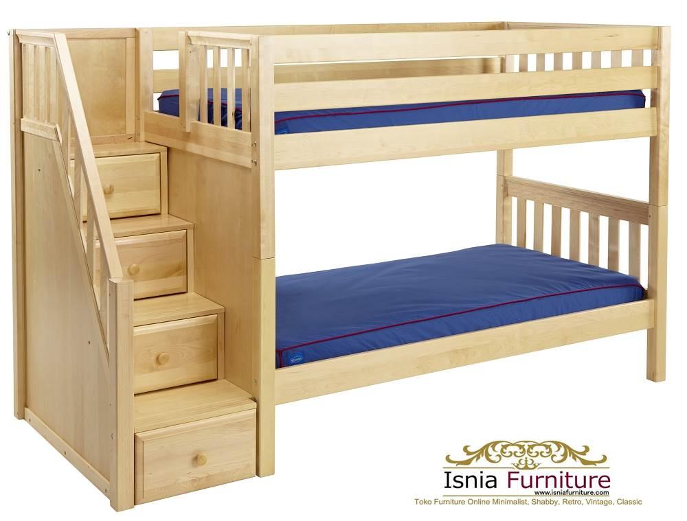 Jual-Tempat-Tidur-Tingkat-Jati-Minimalis 49 Tempat Tidur Tingkat Kayu Minimalis | JUAL HARGA MURAH