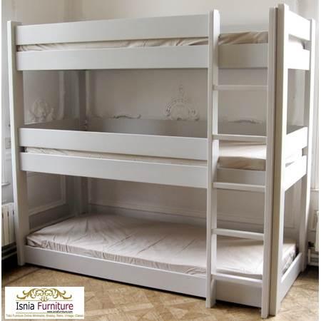 Tempat-Tidur-Susun-3-Tingkat 49 Model Tempat Tidur Tingkat Kayu Desain Minimalis | JUAL HARGA MURAH
