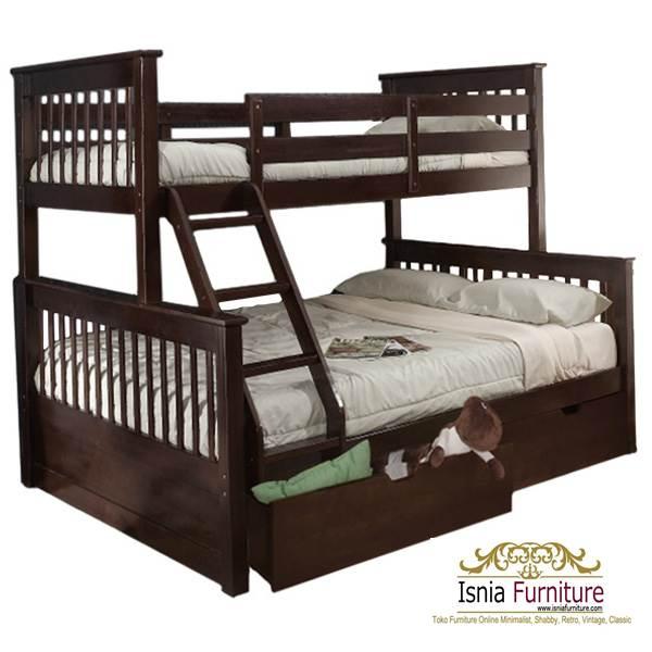 Tempat-Tidur-Tingkat-Anak 49 Model Tempat Tidur Tingkat Kayu Desain Minimalis | JUAL HARGA MURAH