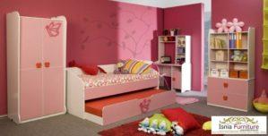 Kamar Set Anak Perempuan Pink Cantik