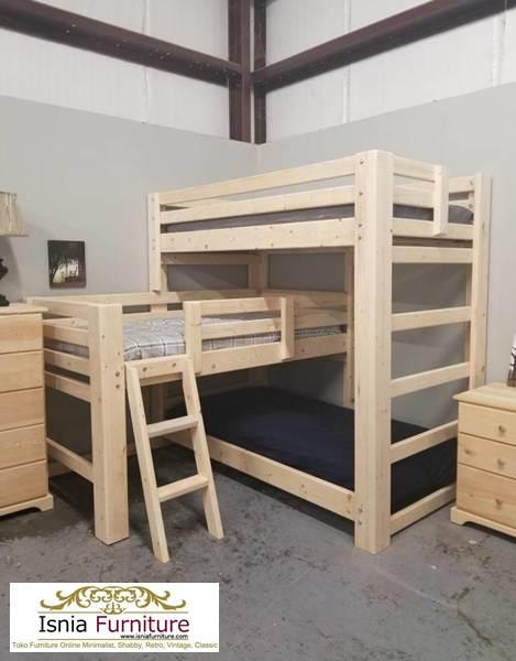 tempat-tidur-anak-3-tingkat-minimalis Jual Tempat Tidur Tingkat Jakarta Model 3 Susun Kayu Jati