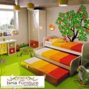 Tempat Tidur Sorong Tumpuk 3 Unik Minimalis