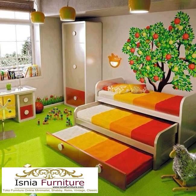 Tempat-Tidur-Sorong-Tumpuk-3-Unik-Minimalis Tempat Tidur Sorong Tumpuk 3 Unik Minimalis