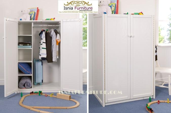 lemari-pakaian-anak-duco Lemari Pakaian Anak Surabaya Minimalis Putih