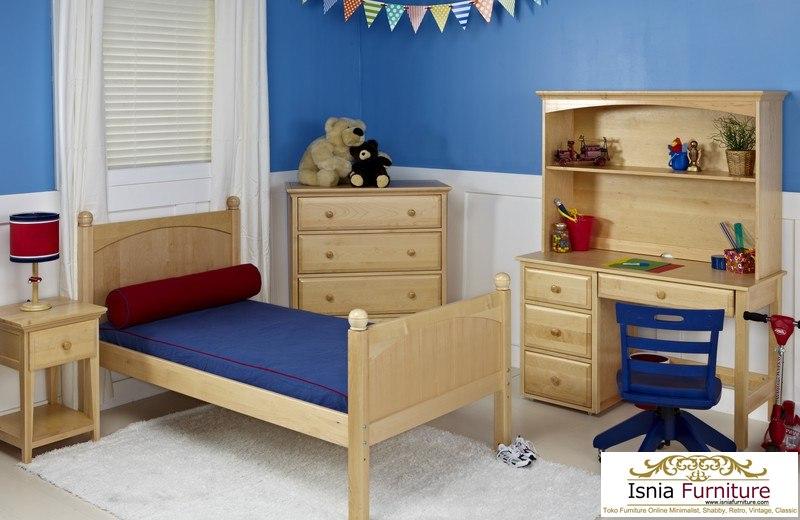 set-tempat-tidur-anak-minimalis Kamar Set Anak Laki-Laki Minimalis Modern