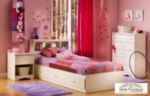 Kamar Set Anak Perempuan Laci Bawah