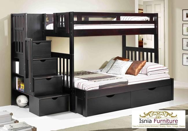 jual-tempat-tidur-tingkat-laci-bawah 49 Model Tempat Tidur Tingkat Kayu Desain Minimalis | JUAL HARGA MURAH
