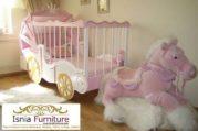 Box Bayi Unik Kereta Kuda Pink