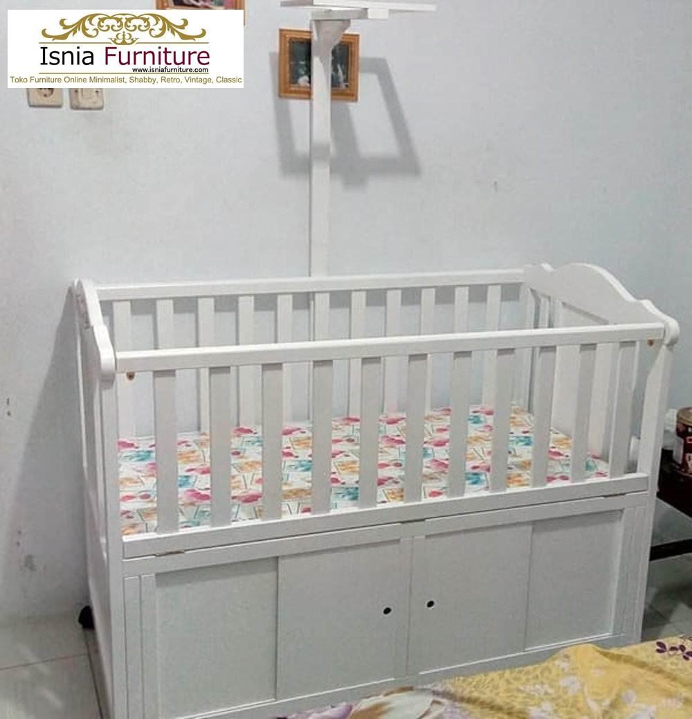 Bok-Bayi-Duco-Putih-Dengan-Penggantung-Mainan Box Bayi Duco Putih Dengan Penggantung Mainan