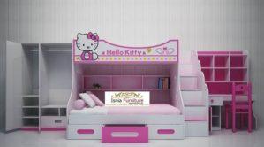 Set Kamar Karakter Helo Kitty