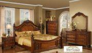 Set Tempat Tidur Jati Mewah Klasik