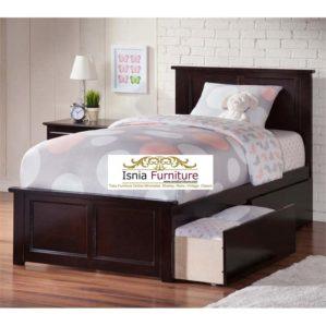 Tempat Tidur Anak Dengan Laci Model Minimalis