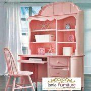 Meja Belajar Anak Perempuan Pink