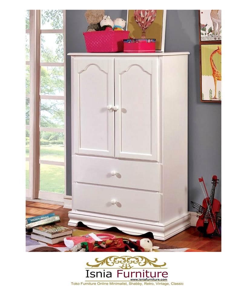 Lemari-Pakaian-Anak-Minimalis-Duco-Cantik-Warna-Putih Lemari Pakaian Anak Minimalis Duco Cantik Warna Putih