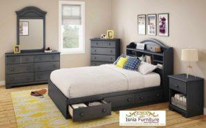 Set Kamar Anak Laki-laki Dengan Model Tempat Tidur Laci Minimalis