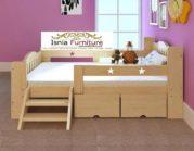 Tempat Tidur Anak Minimalis Jati Berlaci