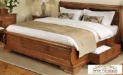 Tempat Tidur kayu Minimalis Dengan Laci Penyimpanan