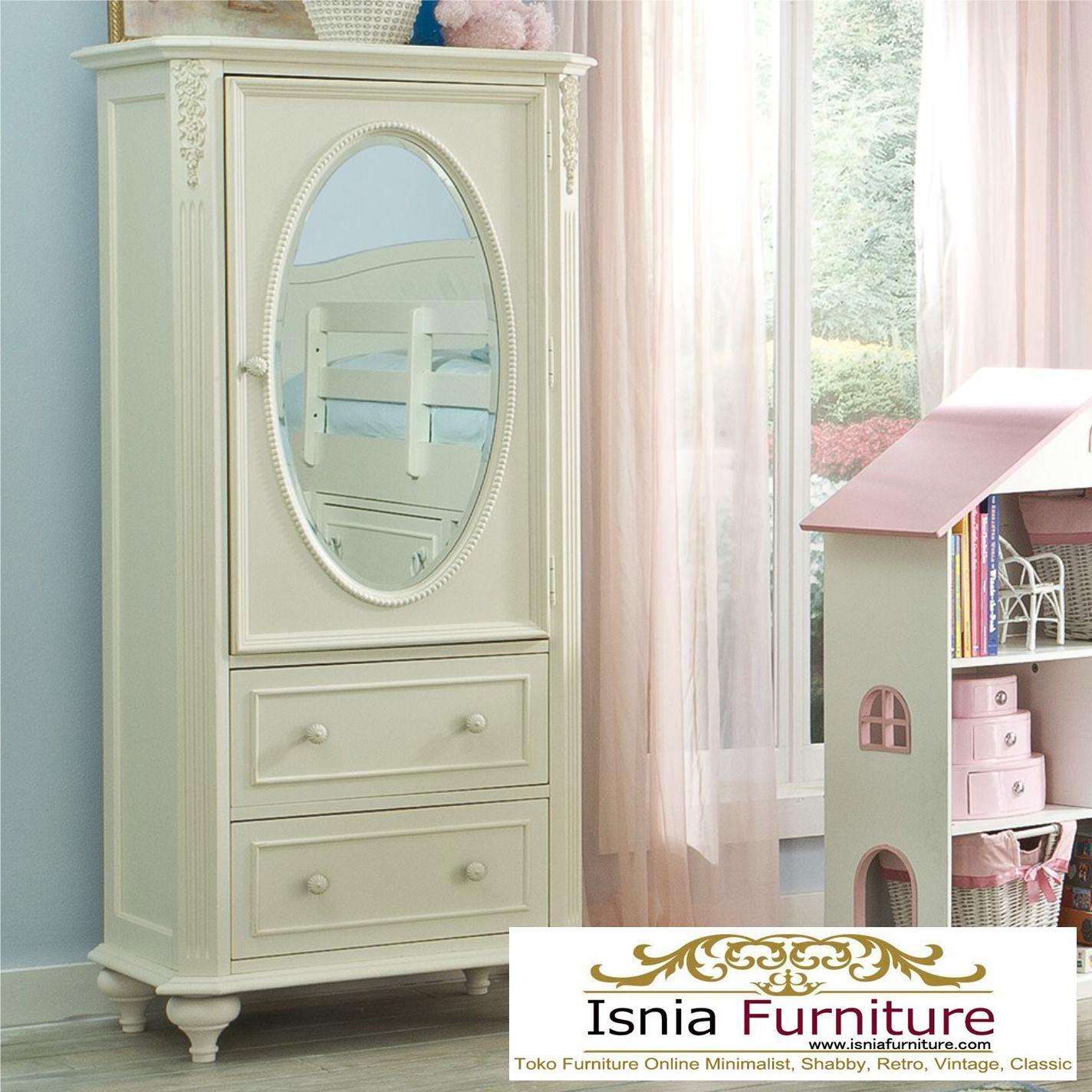 Lemari-Baju-Anak-Minimalis-1-Pintu-Dengan-Kaca-Cermin Lemari Baju Anak Minimalis 1 Pintu Dengan Kaca Cermin