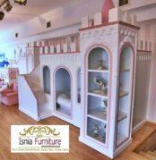 Set Kamar Anak Perempuan Model Tempat Tidur Istana Tingkat