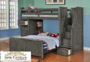 Tempat Tidur Anak Modern Model Ranjang Susun Tingkat