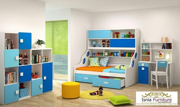 set-dipan-anak-tingkat-mojokerto Set Dipan Anak Sorong Mojokerto Ruang Tidur Ceria